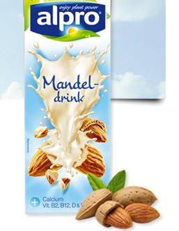 Alpro Mandeldrink Produkttest
