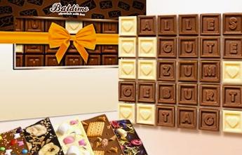 Baldimo Schokolade Gutschein