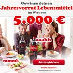 Thumbnail image for MeinCokeBonus Gewinnspiel: Lebensmittel-Jahresvorrat im Wert von 5.000€