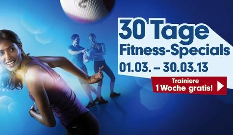 Gästepass für gratis Training bei Fitness First
