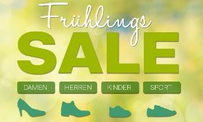 Frühlings Sale bei Deichmann