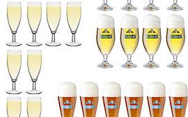 Biergläser Sektgläser günstig im Set