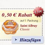 Thumbnail image for Käse Gutscheine für Saint Albray, Fol Epi, Géramont, Milkana & Chaumes