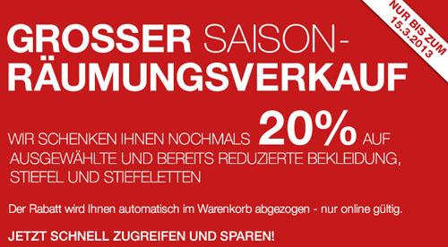 Galeria Kaufhof Räumungsverkauf