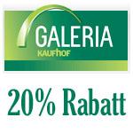 20% Rabatt bei Galeria Kaufhof