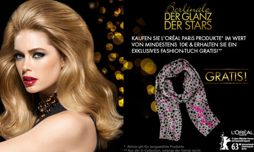 L'Oréal Fashiontuch Berlinale geschenkt