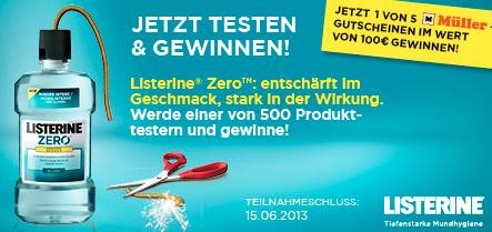Listerine Zero Produkttest