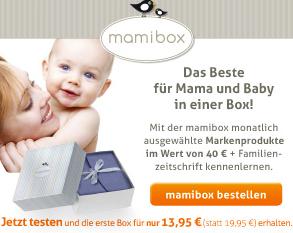 mamibox Schnupperangebot