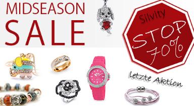 Post image for Silvity Modeschmuck: Sale mit bis zu 70% Rabatt & 3€ Gutschein