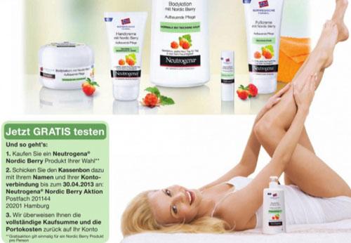 Post image for Neutrogena Nordic Berry Cashback-Aktion