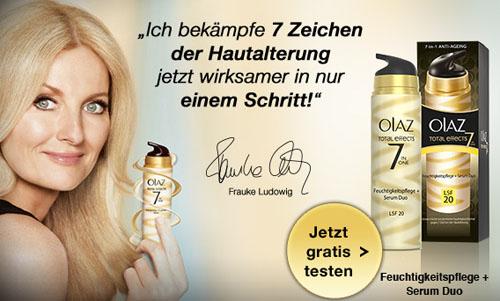 Post image for Gratisprobe der OLAZ Feuchtigkeitspflege + Serum Duo