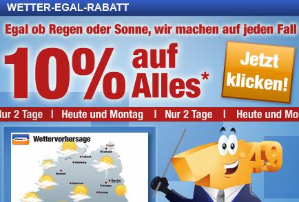10% Rabatt zu Pfingsten bei Plus.de
