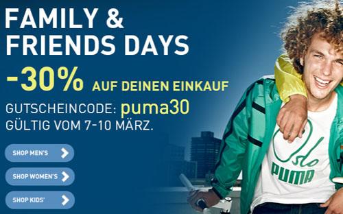 Post image for 30% Rabatt im Puma Online-Shop (bis 10.03.)