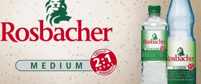 Rosbacher Mineralwasser Produkttest