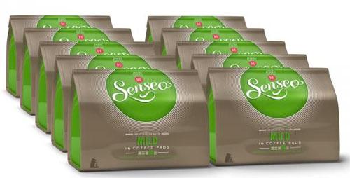 Post image for 10er Pack Senseo Kaffeepads Mild (10 x 16 Pads) für 15,99€