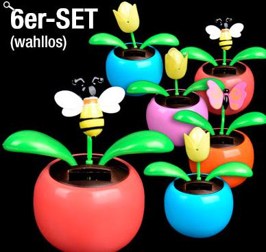 Post image for 6er Set Solar-Wackelblumen für 9,99€ inkl. Versand