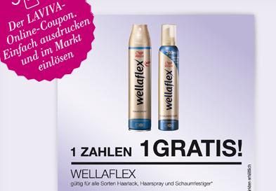 Wellaflex Coupon zum Download