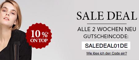 Sale Rabatte und Gutschein bei Zalando