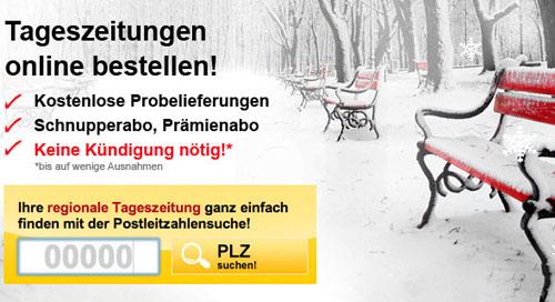 Post image for Tageszeitung 14 Tage lang gratis testen (selbstkündigend)