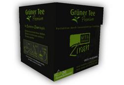 Ziran Grüner Tee gratis Probe