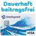 Post image for Dauerhaft beitragsfreie VISA-Card + 25€ Startguthaben