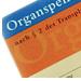 Post image for Kostenloser Organspendeausweis als Plastikkarte