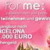 Thumbnail image for for me Gewinnspiel: Shoppingtour nach Barcelona inklusive 1.000€ Taschengeld