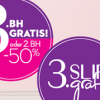 Thumbnail image for Hunkemöller: 3. BH gratis oder 2. BH mit 50% Rabatt / 3. Slip gratis