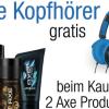 Thumbnail image for Gratis Kopfhörer beim Kauf von 2 Axe Produkten