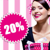 Thumbnail image for 20% Rabatt auf Alles bei der Stadt-Parfümerie Pieper