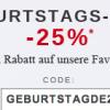 Thumbnail image for Zalando: 25% Rabatt-Gutschein und kostenloser Versand