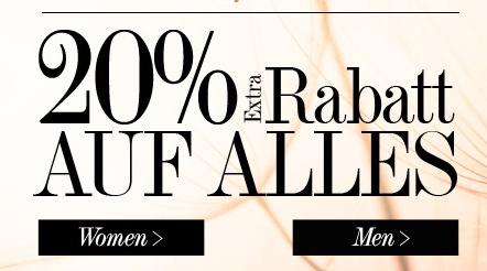 20% Rabatt bei dress-for-less