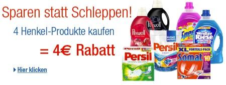 Henkel Coupon 4 Euro Rabatt