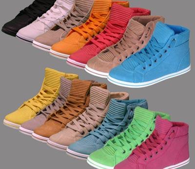 Damen High Sneaker in vielen Farben