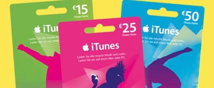 iTunes Guthaben Rabatt