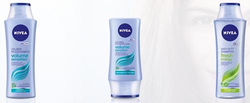 gratis Probe Nivea Shampoo Spülung