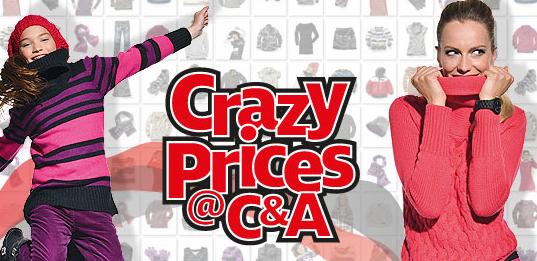 Crazy Prices bei C&A
