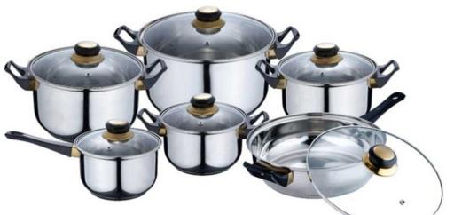12 teiliges Kochtopfset bei eBay