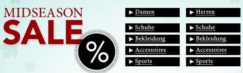 Midseason Sale Rabatte bei Zalando
