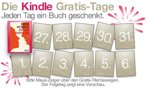 Kindle Ebooks gratis bei Amazon