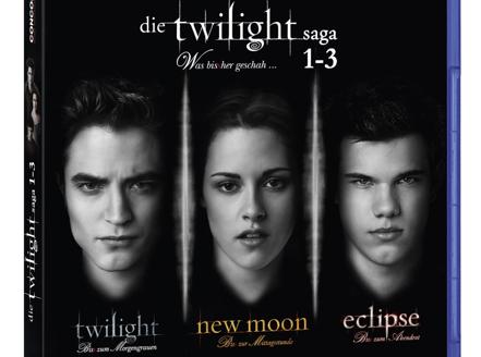 Twilight Saga Teil 1 bis 3