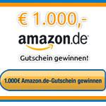 Thumbnail image for Gewinnspiel: 1.000€ Amazon Gutschein zu gewinnen