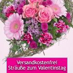 Thumbnail image for LIDL-Blumen: 5€ Gutschein für Valentins-Sträuße
