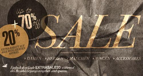 Post image for Sale bei MEXX mit bis zu 70% Rabatt + 20% Extra-Rabatt mit Gutschein