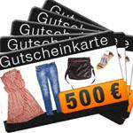 Thumbnail image for Gewinnspiel: 5 x 500€ Mode-Gutscheine zu gewinnen