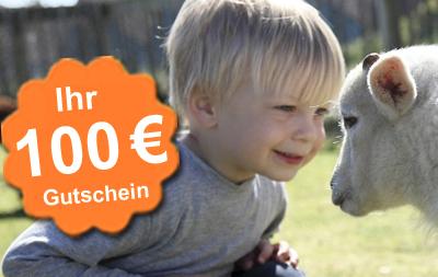 Center Parks Gutschein im Wert von 100 Euro