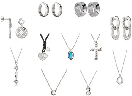 Esprit Colliers Armbänder Ohrringe günstig