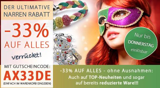 Post image for 33% Rabatt auf Uhren & Schmuck bei Silvity – nur noch heute!